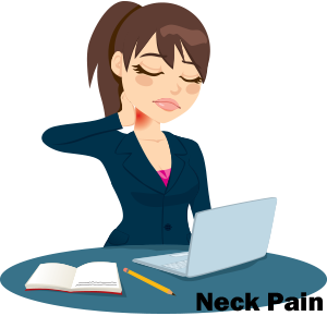 Neck Pain at Desk
